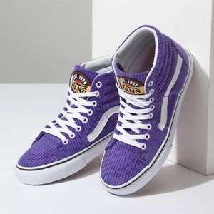 41e65da1d454 Vans Shoes - Vans Design Assembly Corduroy Sk8-Hi Heliotrope